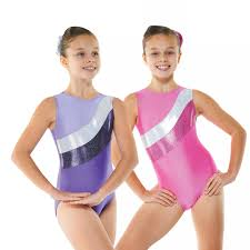 Nylon Lycra Cosmic Sleeveless Gymnastic Leotard G18