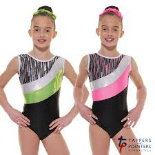 Cascade Shine Lycra Sleeveless Gymnastic Leotard G43