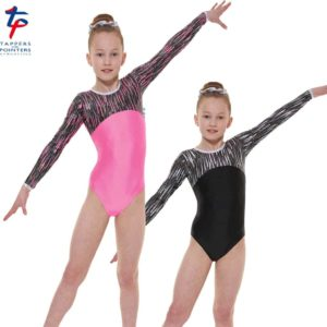 Cascade Shine Lycra Long Sleeve Gymnastic Leotard G46