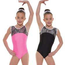 Shine Lycra Sleeveless Gymnastic Leotard G45